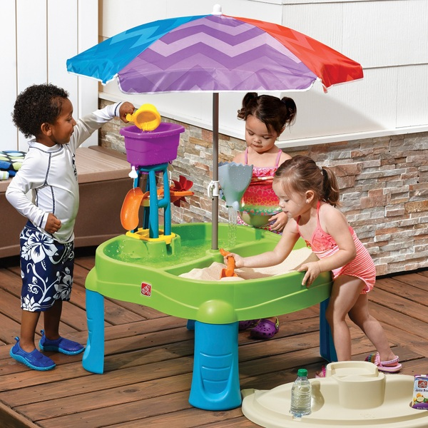 step 2 splash & scoop bay sand and water table - sand and water