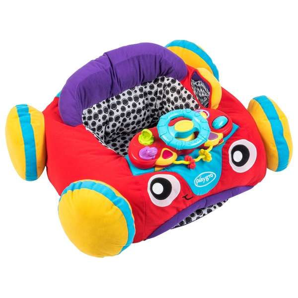 Playgro Grow n' Play Music & Lights Comfy Car Red