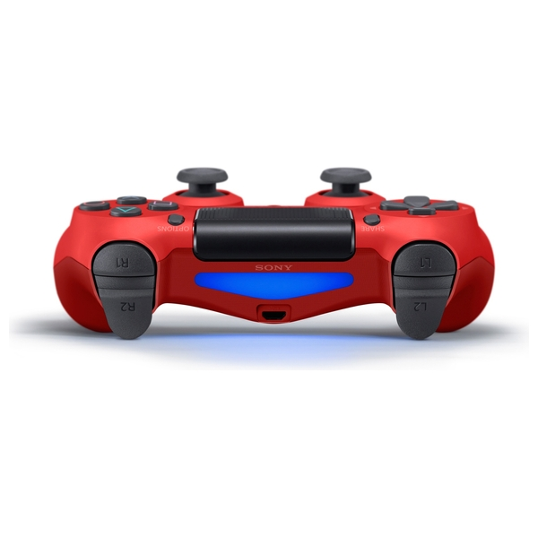 PlayStation 4 Dualshock Controller - Magma Red - PlayStation 4 Accessories  UK