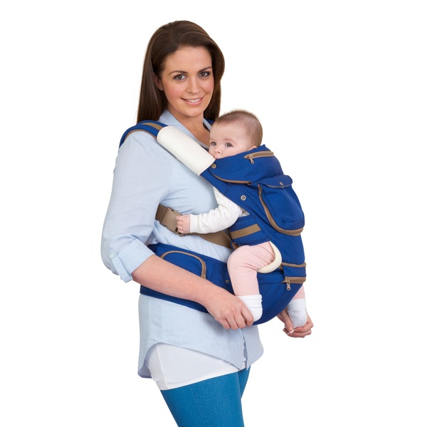 Clevamama 5 Position Ergonomic Baby And Hip Carrier Baby