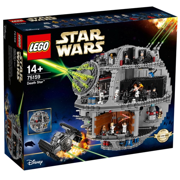 LEGO 75159 Star Wars Death Star Iconic Construction Set