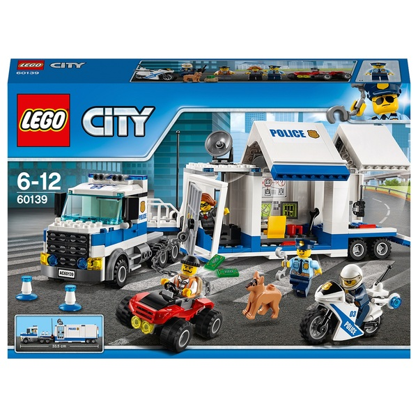 LEGO 60139 City Police Mobile Command Center Truck Toy