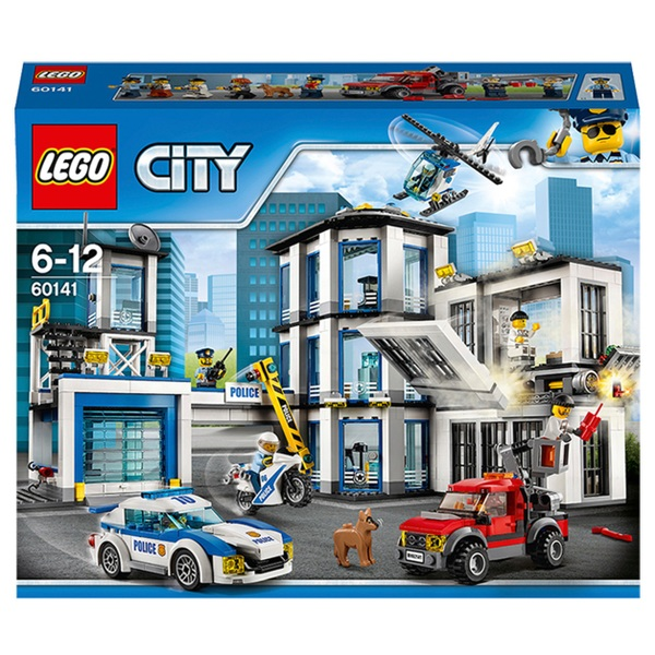 Lego 60141 City Police Station Helicopter Car And Bike Toys Lego