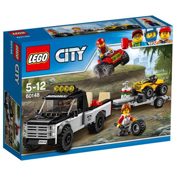 LEGO 60148 City Great Vehicles ATV Race Car Toy