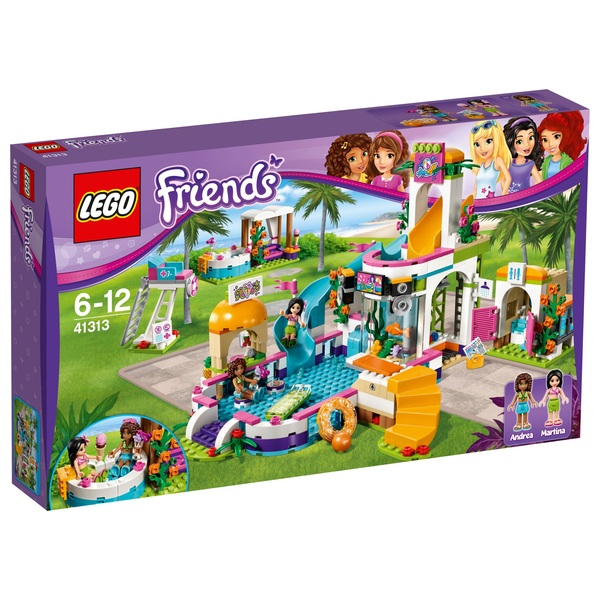 LEGO 41313 Friends Heartlake Summer Pool Party Playset