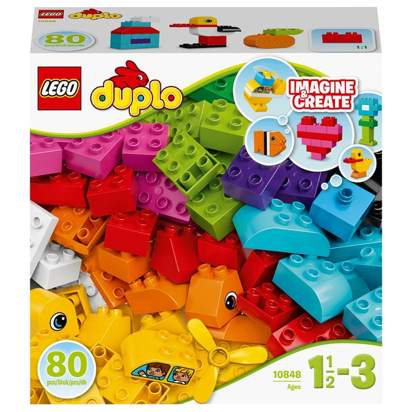 LEGO 10848 DUPLO My First Bricks Toy for Toddlers