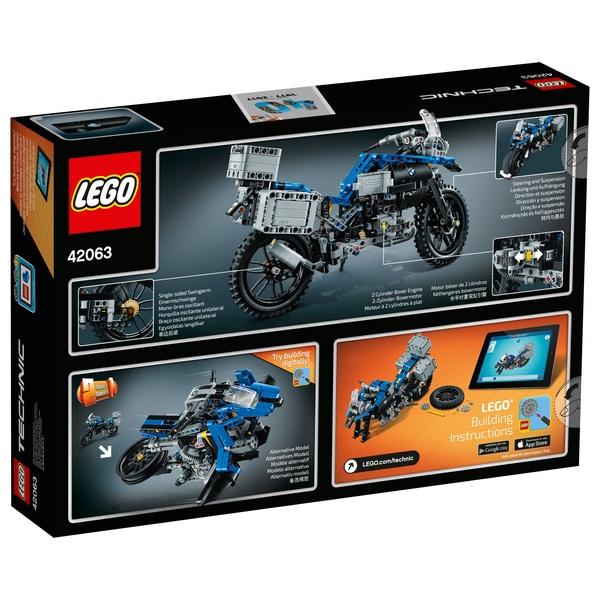 lego technic bmw r 1200 gs adventure 42063 - lego technic uk