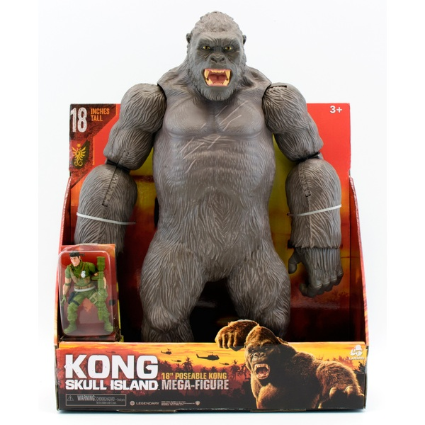 Kong Skull Island 46cm Kong Mega Figure And Action Figure Smyths Toys