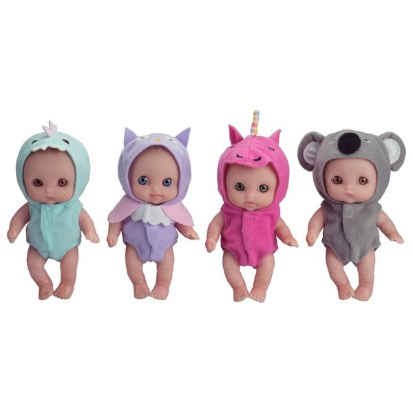 13cm Lil' Cutesies Doll with animal theme - Assortment