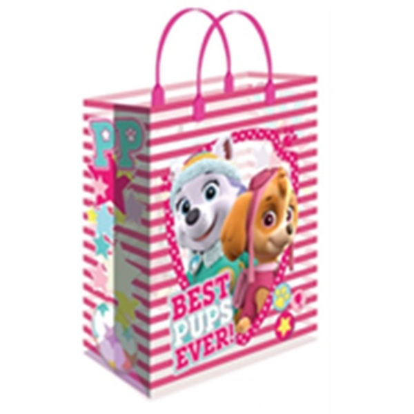 Large Pink Paw Patrol Gift Bag