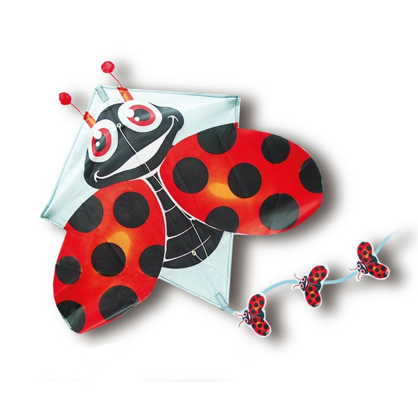 Pop Up Lady Bug Kite