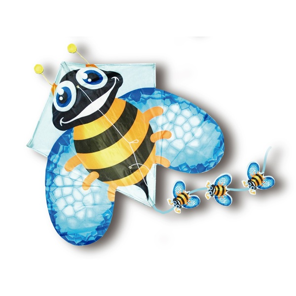 Pop-Up Bumble Bee Kite