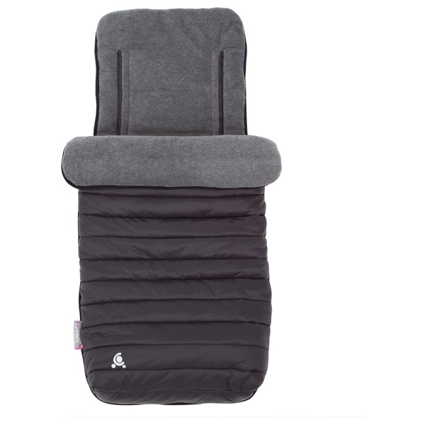 CuddleCo Comfi-Snug 2-in-1 Footmuff Liquorice Black