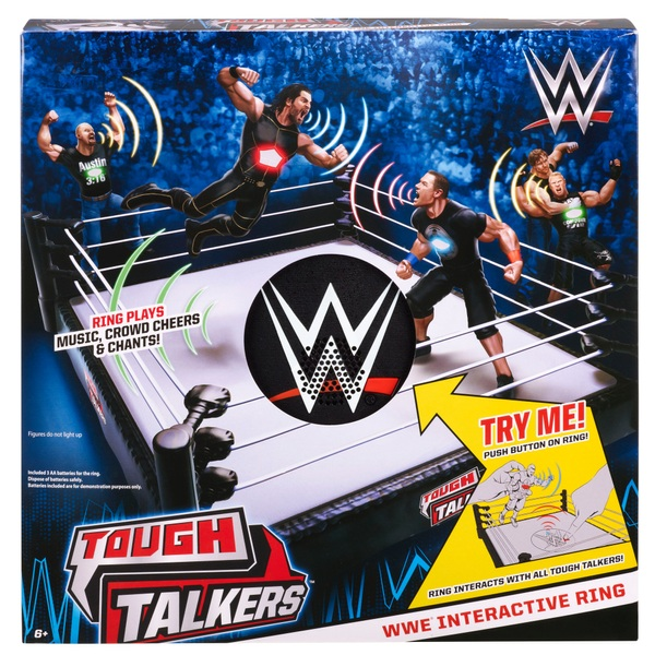 Wwe Tough Talkers Interactive Ring Great Value On Top