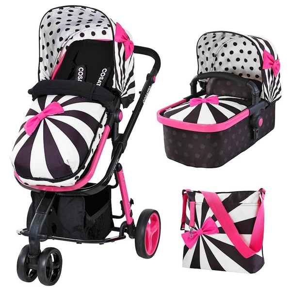 Cosatto Giggle-2 3-in-1 Pram & Pushchair - Go Lightly 2