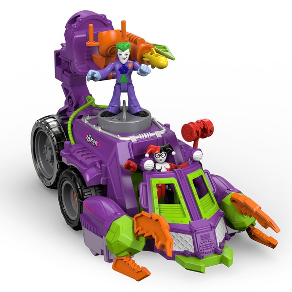 Imaginext DC Super Friends The Joker & Harley Quinn Battle Vehicle