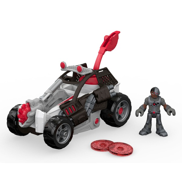 Imaginext Streets Of Gotham City Cyborg & Saw Buggy 19cm