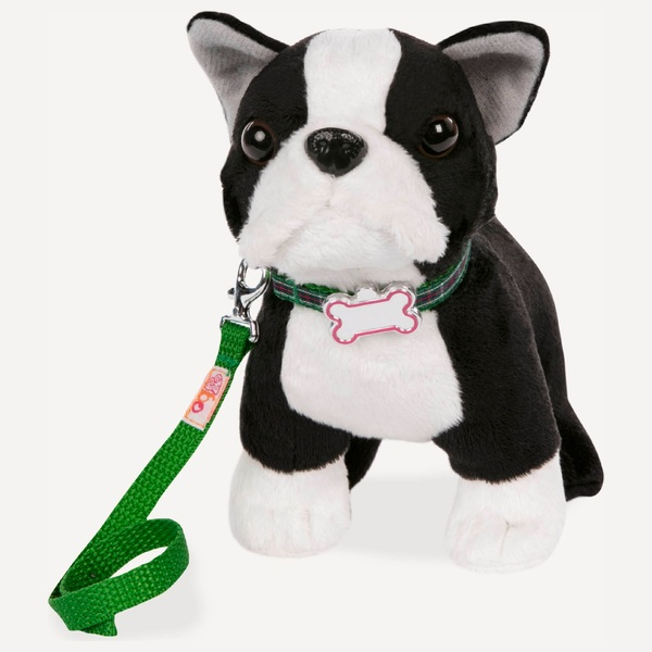 Our Generation Boston Terrier Pup 15cm