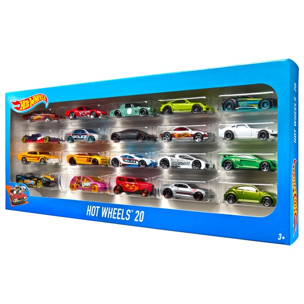 Hot Wheels 20-Car Gift Pack Diecast Toy Cars