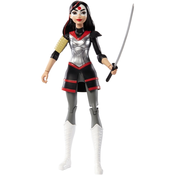 Dc Super Hero Girls Katana 15cm Doll Dc Superhero Girls Uk