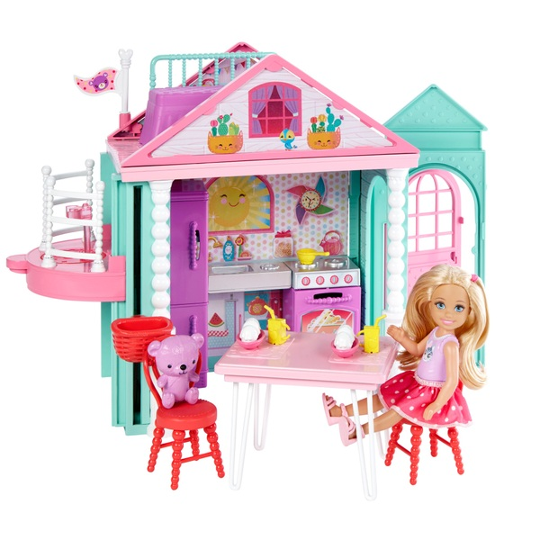 Barbie Club Chelsea Playhouse Doll Set