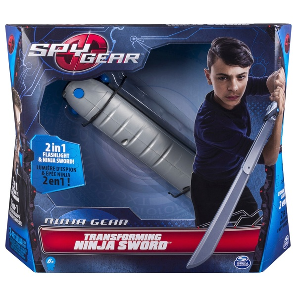 Spy Gear Transforming Ninja Sword