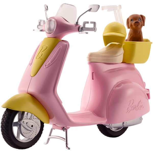Barbie Moped Puppy Barbie Uk