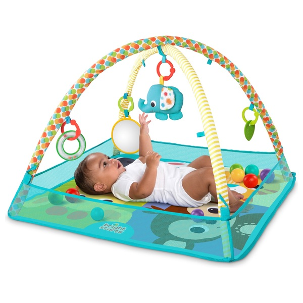 Bright Starts Zippy Zoo Activity Gym Chills And Pains Baby