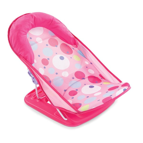 Summer Infant Deluxe Baby Bather Pink Spot