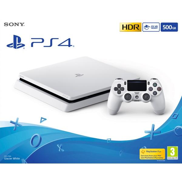 PlayStation 4 500GB Glacier White Console