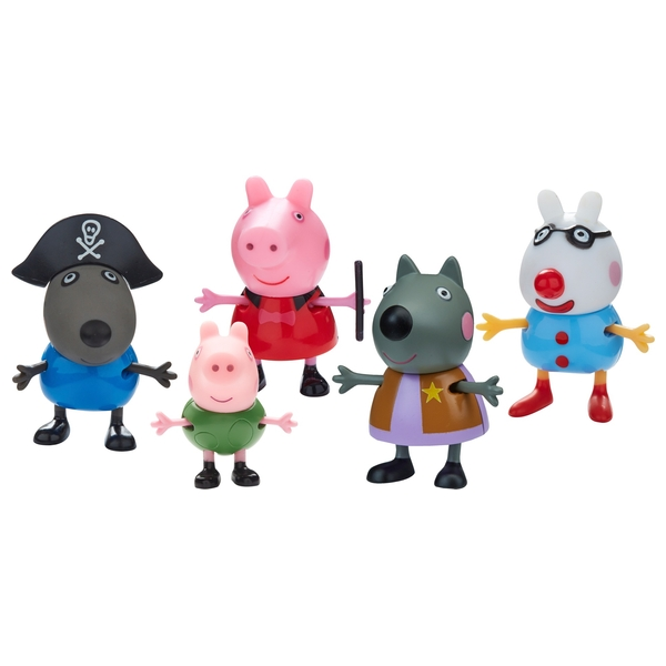 Peppa Pig Dress Up 5 pack