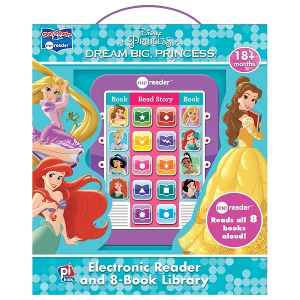 Disney Princess Dream Big Princess Electronic Reader & Book Library