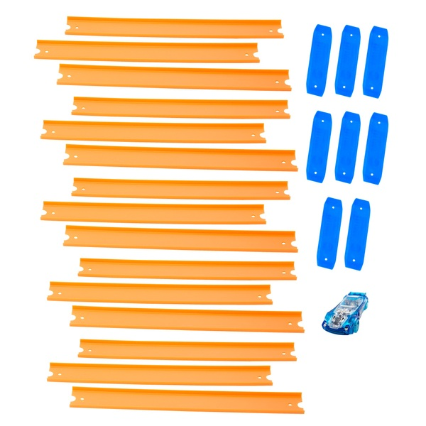 Hot Wheels Straight Track lot of 4 packs 12 feet of track