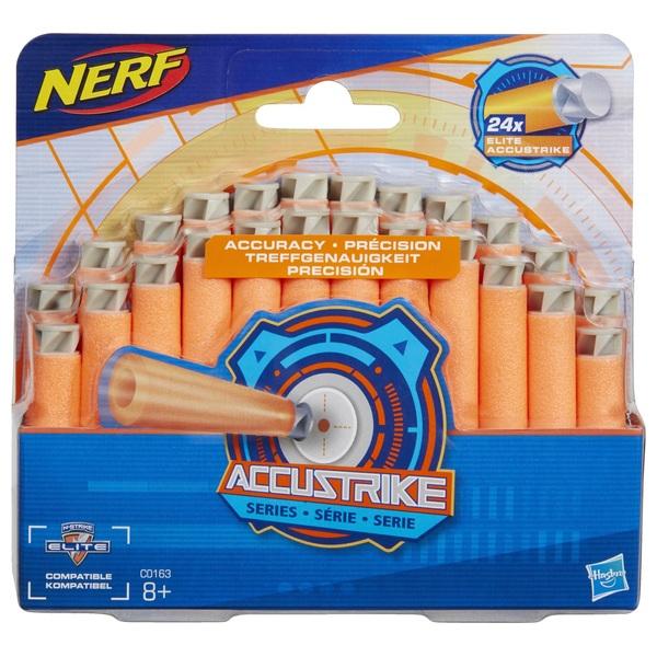 NERF N-Strike Elite AccuStrike Series  24-Pack Refill