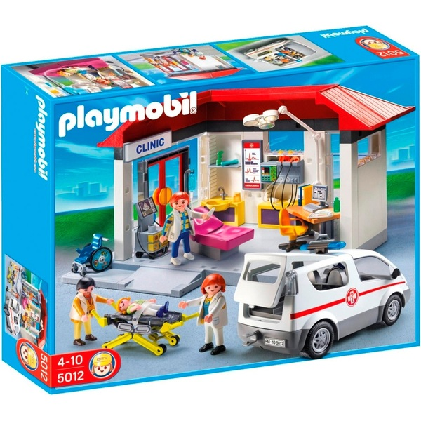 Playmobil Medical Centre And Ambulance 5012 Playmobil Uk