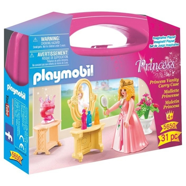 Playmobil Princess Vanity Carry Case 5650 2 For 15 Uk