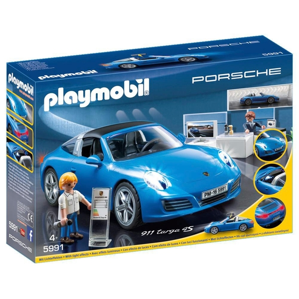 playmobil porsche 911 targa 4s 5991 playmobil uk. Black Bedroom Furniture Sets. Home Design Ideas