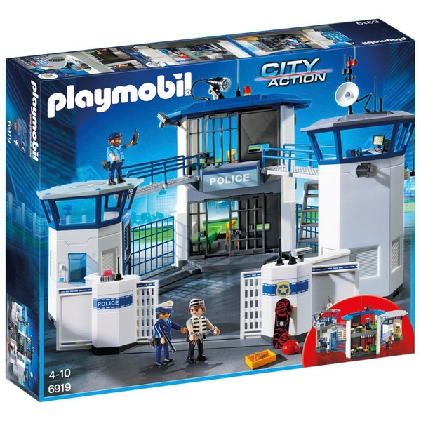 playmobil police headquarters with prison 6919 - Playmobile Police