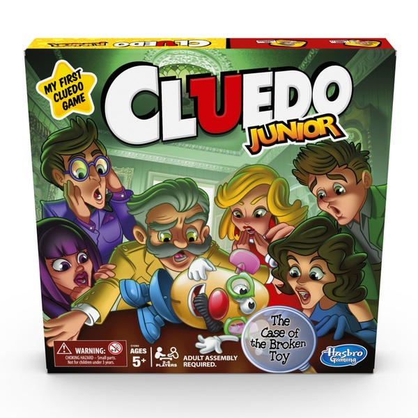 Cluedo Junior Game Assortment