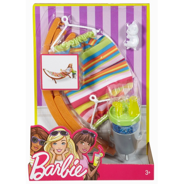 Barbie Outdoor Furniture Summer Day Playset - Assortment