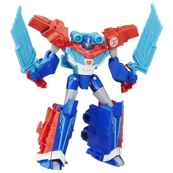 Transformers Robots in Disguise Warrior Class Power Surge Optimus Prime