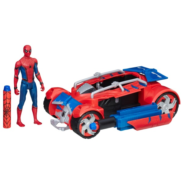 Marvel Spider-Man: Homecoming Spider Racer Vehicle with Figure