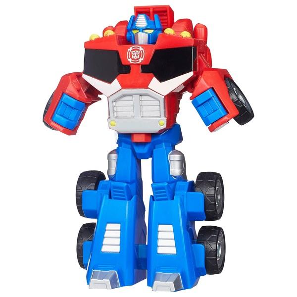 Optimus Prime Figure - Playskool Heroes Transformers Rescue Bots