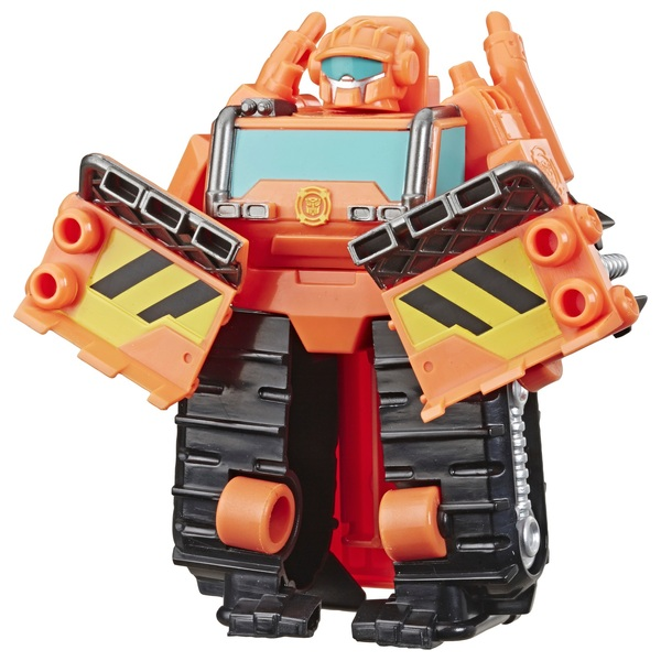 Wedge the Construction-Bot - Transformers Academy Playskool Heroes Rescu