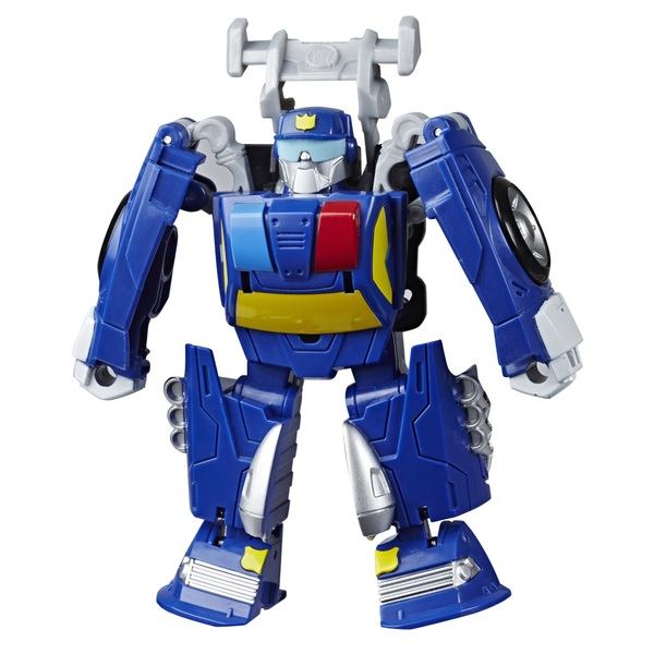 Chase the Police Bot - Transformers Academy Playskool Heroes Rescue Bots