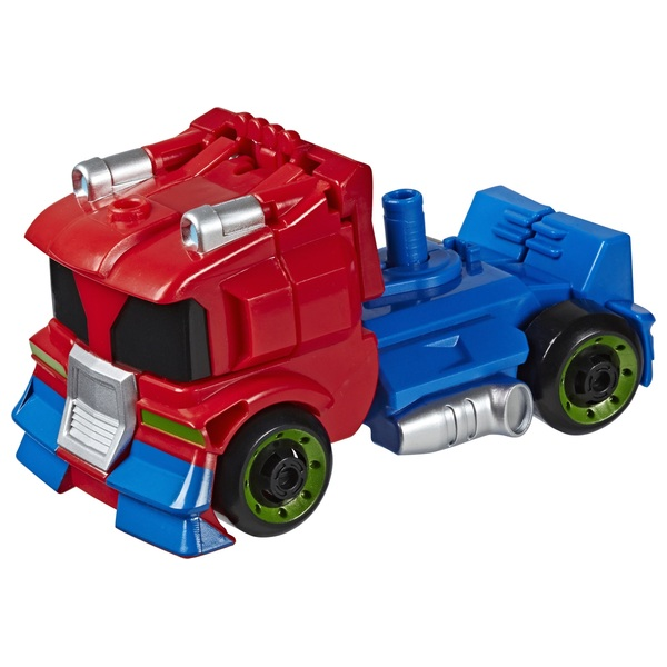 Optimus Prime  - Transformers Academy Playskool Heroes Rescue Bots
