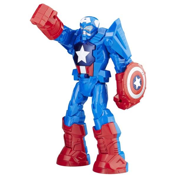 Playskool Heroes Marvel Super Hero Adventures Mech Armour Captain America