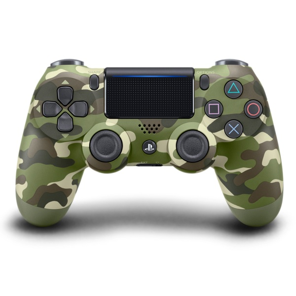 PlayStation Dualshock 4 Controller - Green Camouflage - PlayStation 4  Accessories UK
