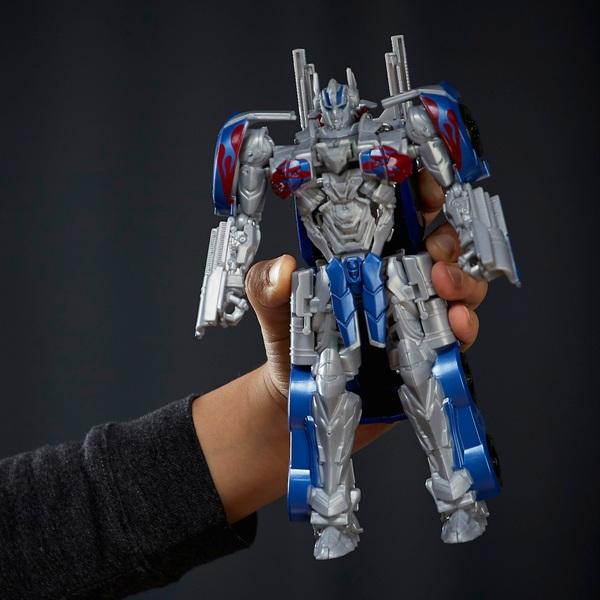 Transformers: The Last Knight Armor 2-step Turbo Changer Optimus Prime