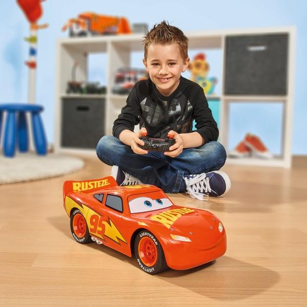 Disney Pixar Cars 3 1:12 Jumbo RRC Lightning McQueen RC Car